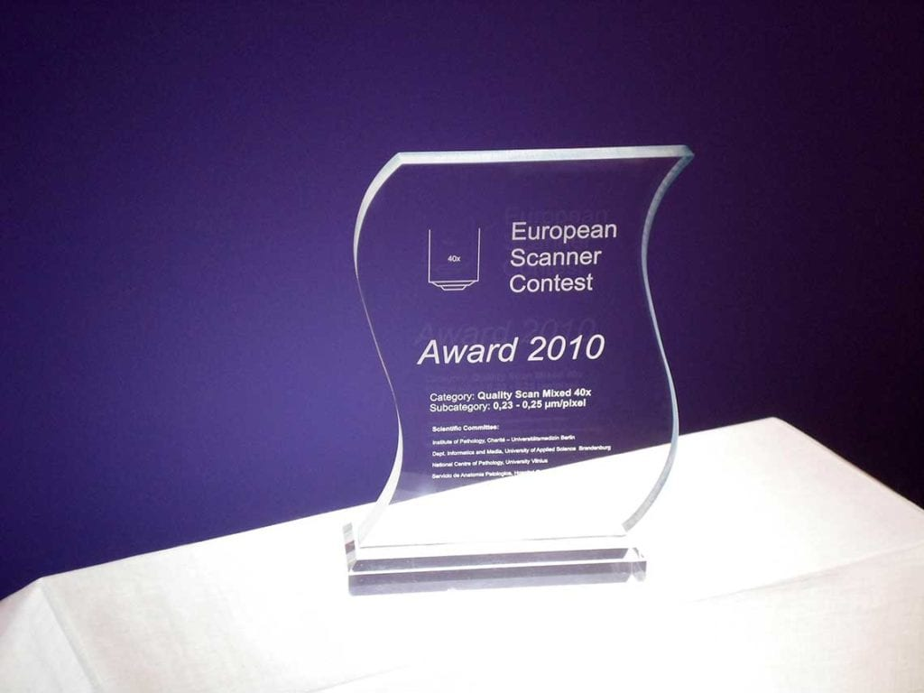 European Scanner Contest Award 2010