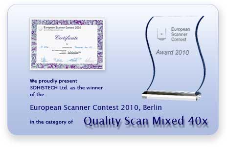 European and International Digital Slide Scanner Contests