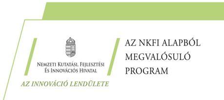 Az NFK alapból megvalósuló program