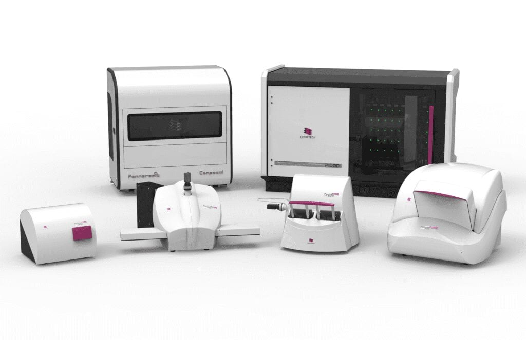 pannoramic digital slide scanners by 3dhistech